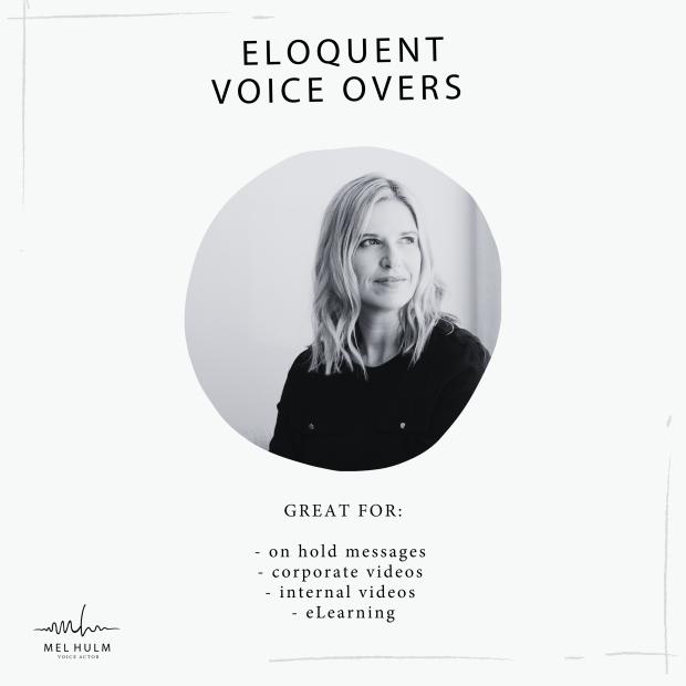 eloquent voice overs album cover