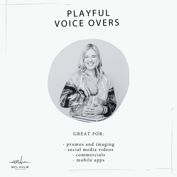 playful voice overs album cover